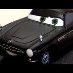 Stealth Finn McMissile CARS 2 Disneystore Chase diecast Disney Pixar 1:43 scale