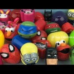 Surprise Eggs Spider Man Teletubbies Disney Princess Elmo Batman Hulk Iron Man Paw Patrol Peppa Pig