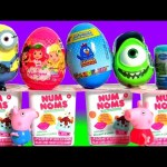Surprise Eggs Strawberry Shortcake Nun Noms Galinha Paintadinha FASHEMS FROZEN Minions