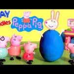 Surprise Peppa Pig Clay Buddies Baby Toys Play-Doh Rebecca Rabbit, Mummy Pig, Daddy Pig, George