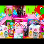 Surprise Unboxing Kinder BFF MLP Minecraft Peppa and Disney Maleficent