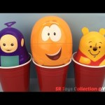 Teletubbies Bubble Guppies Winnie the Pooh Surprise Cups Disney Frozen Tsum Tsum Marvel Blind Bags