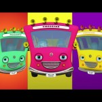 Ten Little Buses   Nursery Rhymes Collection   Videogyan 3D Rhymes & Kids Songs