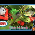 Thomas and Friends Ryan ToysReview playing Hide and Seek at the Park with Thomas, James, and Percy