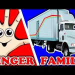 TRUCKS Finger Family | Surprise Eggs Finger Family with Police Monster Truck & more! Nursery Rhyme