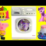 Washing Machine Surprises with Shopkins My Little Pony and More Toy Genie