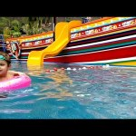 Water park fun for kids, Video from KIDS TOYS CHANNEL