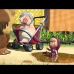 Маша и Медведь – Большая стирка (Мы едем-едем к Мишке)