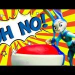 ZOOTOPIA Disney Zootopia Officer Judy Hopps Goes To Jail SLIME Video ToyS Video Parody