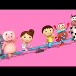 See Saw Margery Daw | Nursery Rhymes | By LittleBabyBum!