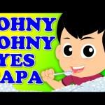 Kids TV Nursery Rhymes | Johny Johny Yes Papa | Baby Songs And Children Videos