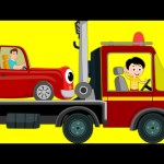 Tow Truck Song | Transport Song | Car Nursery Rhymes For Kids