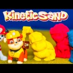 PAW PATROL Nickelodeon Paw Patrol Kinetic Sand Rubble Chase Paw Patrol Video Toy Unboxing