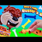 Don't Take Buster's Bones Scary Learning Colors & Counting Matching Kids Game & Family Fun Night Toy
