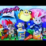 ZOOTOPIA Surprise Backpacks For Movie Opening Day Judy Hopps & Nick Wilde Toys + Candy DisneyCarToys