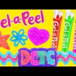 Gel-a-Peel NEW Sparkle GEL PENS Craft Jewelry – Bracelets, Earrings, Keychains (DCTC Toy Reviews)