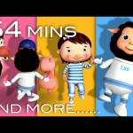 Ring Around The Rosy | Plus Lots More Nursery Rhymes | from LittleBabyBum!
