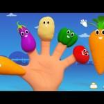 Vegetables Finger Family | Nursery Rhymes From kids Tv