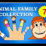 Finger Family Collection – 7 Animal Finger Family Songs – Daddy Finger Nursery Rhymes