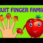 Fruit Finger Family – Nursery Rhymes For Children