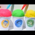 INSIDE OUT Play-Doh Ice Cream  Surprise Eggs Thomas & friends Hello Kitty α μυαλά που κουβαλάς