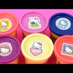 Hello KittyハローキティPlay Doh Peppa Pig Surprise Minions  Inside Out Frozen Disney toys