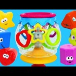 LEARN COLORS & LEARN SHAPES Little Tikes Surprise Toys Fish Bowl ❤ Baby Learning Toy DisneyCarToys