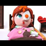 Anna gets Breakfast *** Olaf Playdo Stop Motion Breakfast *** Disney Frozen episodes