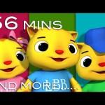 Three Little Kittens | Plus Lots More Nursery Rhymes | from LittleBabyBum!