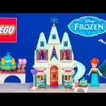 FROZEN FEVER LEGO Disney Princess Elsa Anna Lego Arendelle Castle Video Toy Review