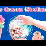 ICE CREAM CHALLENGE How to Make a Ice Cream Sundae Video Yummy Food Challenge Video