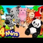 Animals Finger Family Song – Mega Finger Family Collection Part 2! Learn to count with the animals