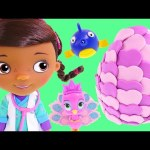 Doc McStuffins Singing and Talking Vet Doll *** Disney Junior Play Doh Surprise Egg