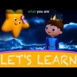 """Let's Learn """"Twinkle Twinkle Little Star""""! With LittleBabyBum!"""