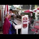 Alyssa Plays the Disneyland Piano!!
