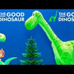 GOOD DINOSAUR Disney Pixar Good Dinosaur Walking Arlo Good Dinosaur Video Toy Unboxing