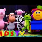 Bob The Train | Animal Sounds Song and More Nursery Rhymes With Bob | Nursery Rhymes | Kids TV