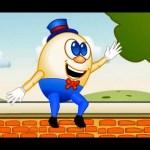 Humpty Dumpty Sat On a Wall Nursery Rhyme | Cartoon Animation Songs For Children