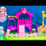 PUPPY IN MY POCKET Puppy SURPRISE BLIND BAGS + Puppy Play Park Video Toy Review