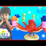 FINDING DORY GAME Disney Pixar Finding Nemo Egg Surprise Toys Family Fun Game Night Ryan ToysReview
