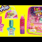Shopkins Cosmetics Backpack and Surprises