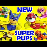 NEW Paw Patrol SUPER Pups