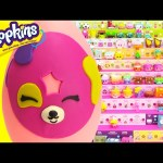 Shopkins Dolly Donut Play Doh Surprise Egg and Limited Edition Hunt