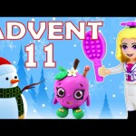 Toy Advent Calendar Day 11 – – Shopkins LEGO Friends Play Doh Minions My Little Pony Disney Princess