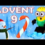 Toy Advent Calendar Day 9 – – Shopkins LEGO Friends Play Doh Minions My Little Pony Disney Princess