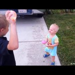 Who Hit Michael With a Water Balloon?!