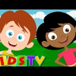 Head Shoulders Knees and Toes | Nursery Rhymes From KidsTv | Kids TV Song