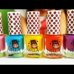 Miss Nella Nail Polish for kids . Video review from KIDS TOYS CHANNEL