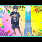 GIANT KerPlunk Family Fun Games for Kids Angry Bird Egg Surprise Toy Finding Dory Ryan ToysReview