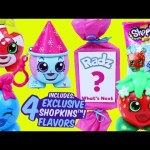 NEW SHOPKINS Radz 4 Flavors Candy Dispensers in Surprise Toys Present Wrapping DisneyCarToys